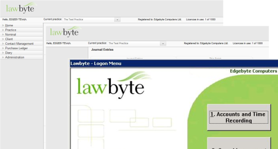Lawbyte Screenshot